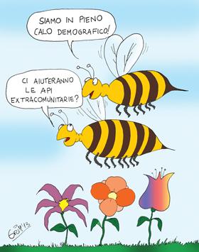 il ruolo delle api
