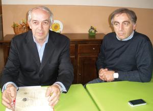 Presidente e direttore Consorzio Salumi piacentini Dop